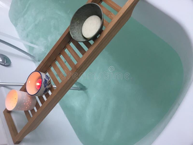 Baño de la salud imagen de archivo