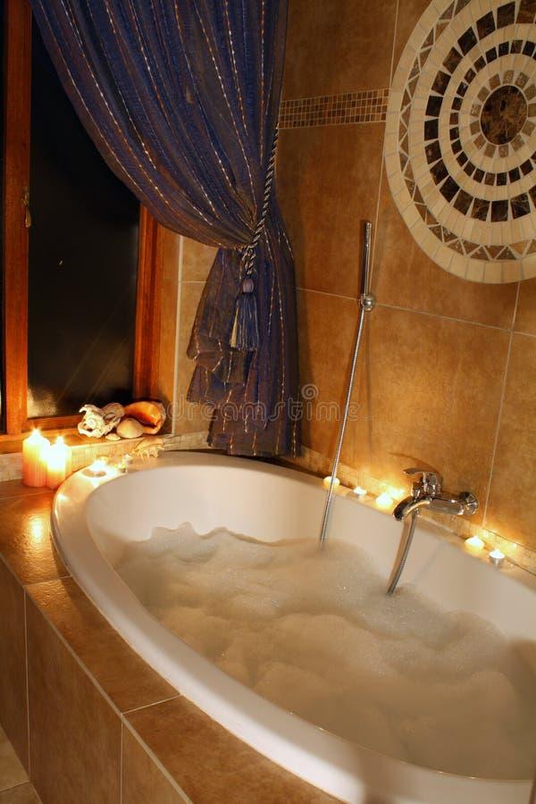 Baño de relajación foto de archivo libre de regalías