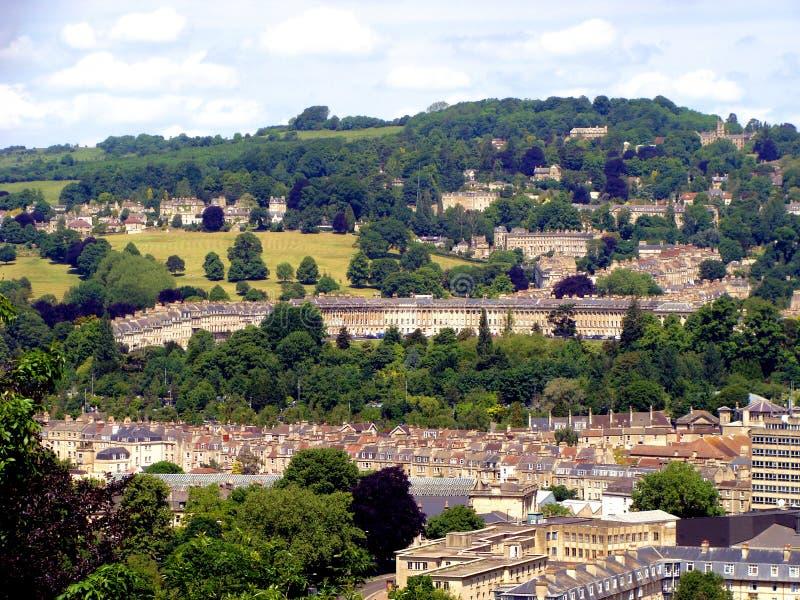 Download Baño, Inglaterra foto de archivo. Imagen de panorámico - 17485492