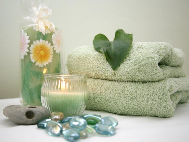 Baño - retratamiento del balneario imagen de archivo