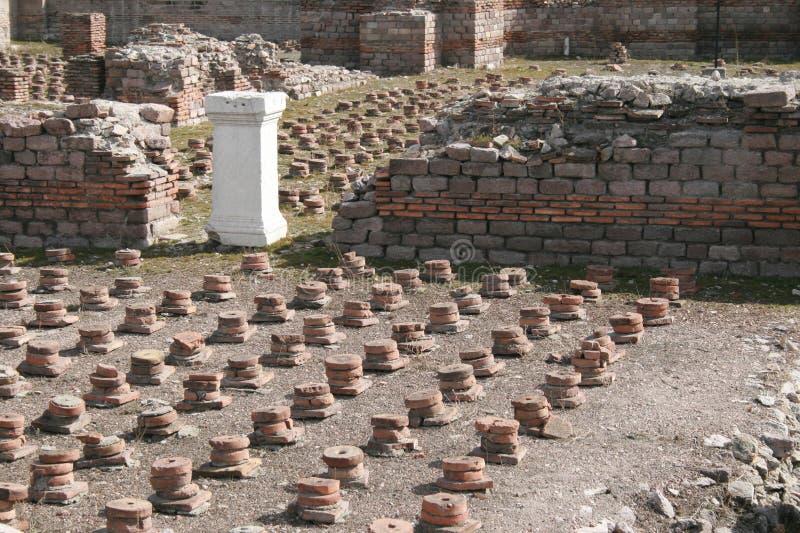 Baño romano imagen de archivo libre de regalías