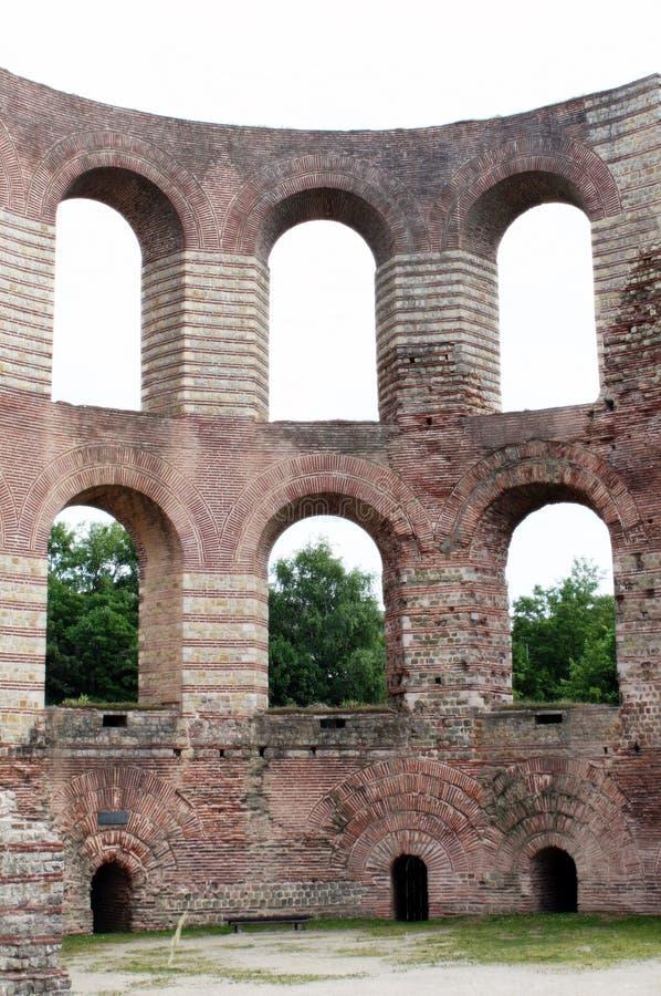 Baño romano antiguo fotografía de archivo libre de regalías