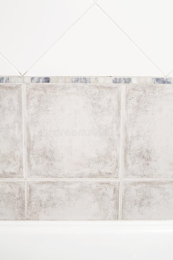 Baño y un azulejo foto de archivo