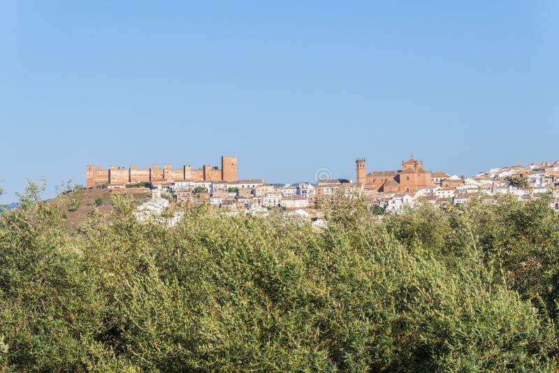 Baños de la encina village, Jaen province, Spain royalty free stock photo
