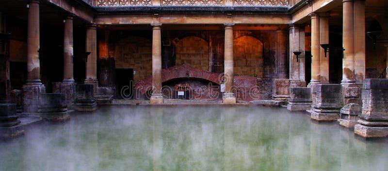Baños romanos foto de archivo