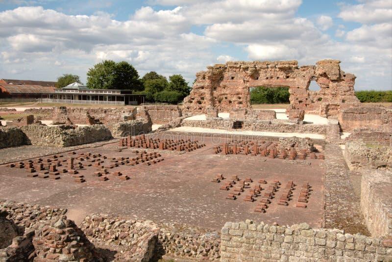 Baños romanos, Inglaterra imagenes de archivo
