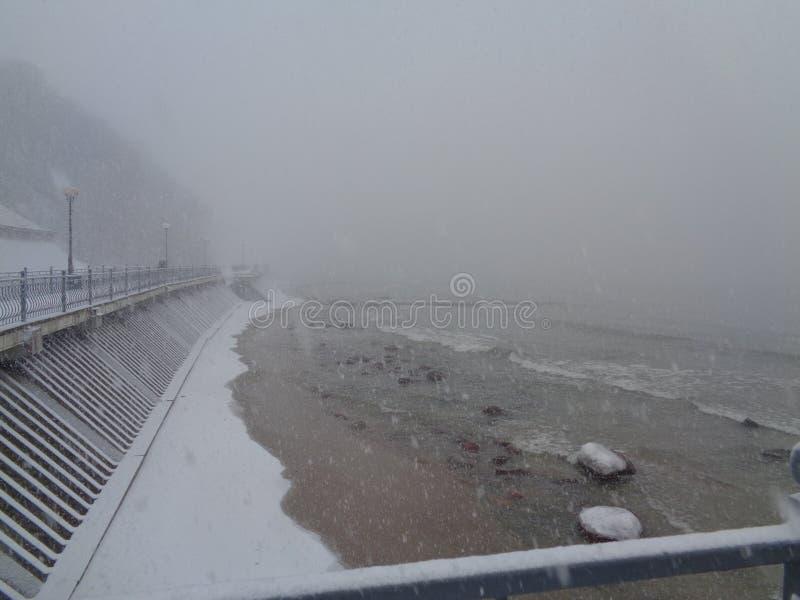 Bałtycka mgła zdjęcia stock