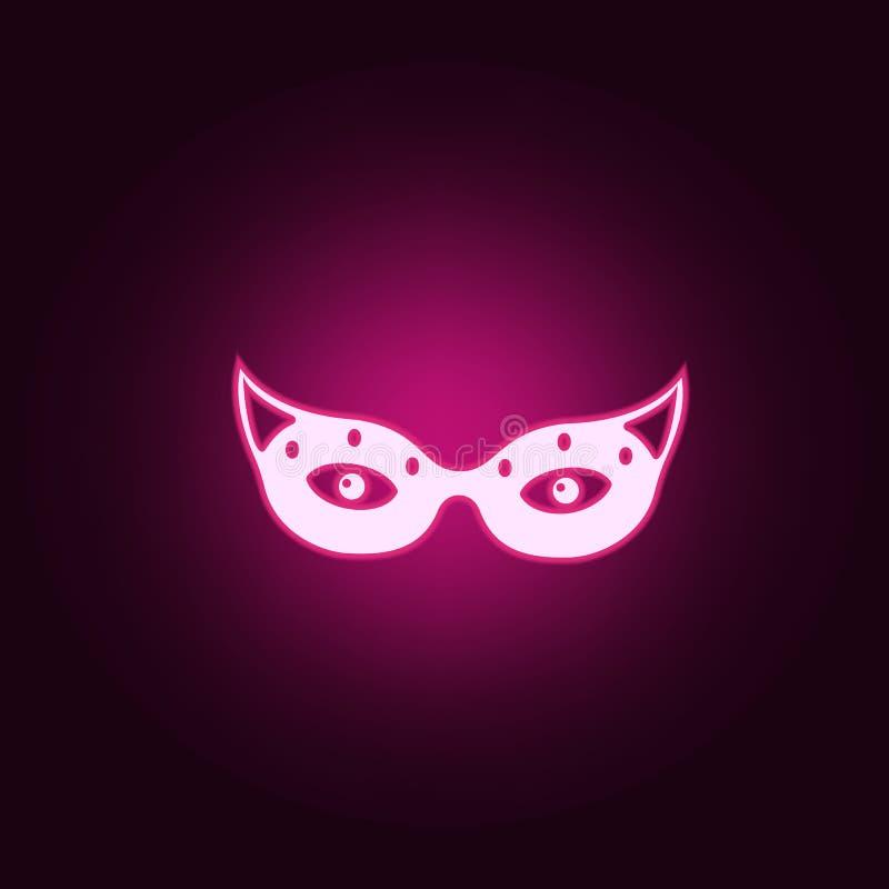 ba?wan neonowa ikona Elementy sie? set Prosta ikona dla stron internetowych, sie? projekt, mobilny app, ewidencyjne grafika ilustracja wektor