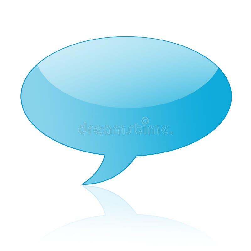 bańka wystąpienie rozmowa ilustracja wektor