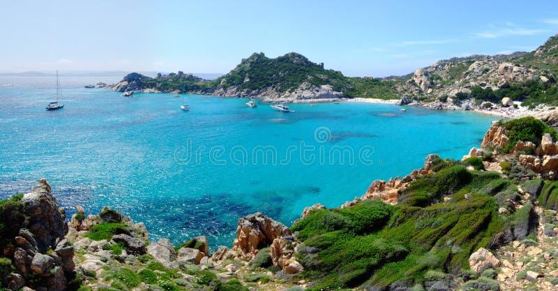 Baai in Maddalena royalty-vrije stock fotografie