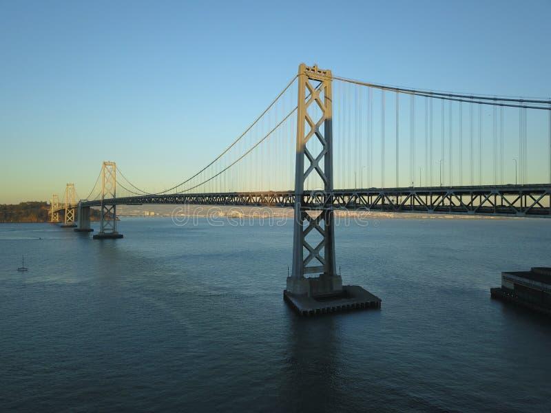 Baaibrug San Francisco, CA royalty-vrije stock foto's