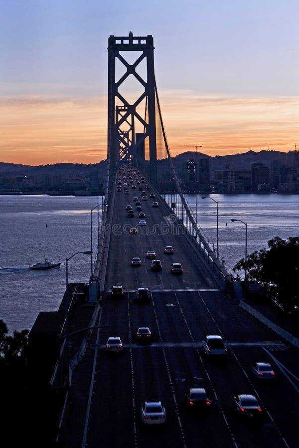 Baaibrug - Schateiland, San Francisco stock afbeelding