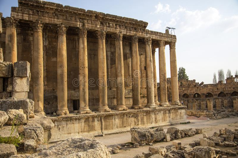Baalbek, Bekaa Valley, Liban photo stock