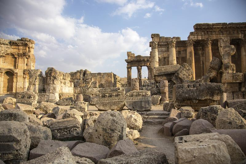 Baalbek, Bekaa Valley, Liban image libre de droits