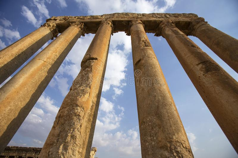 Baalbek, Bekaa Valley, Liban photos stock