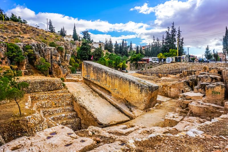 Baalbek Roman Monolith 01 stock afbeelding