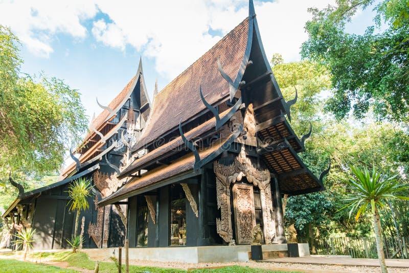 BAANDAM die thailändische Arttradition Chiang Rai, Thailand lizenzfreie stockbilder