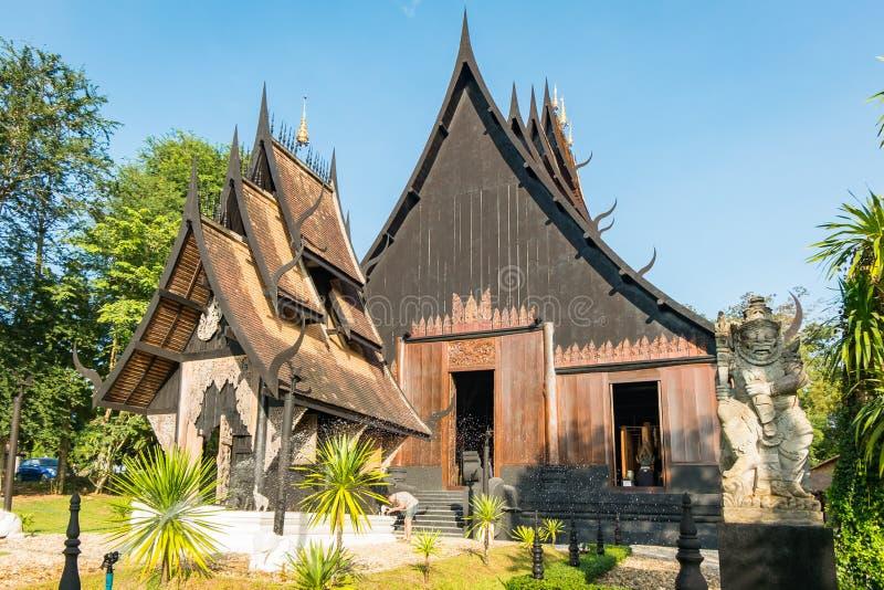 BAANDAM la tradizione tailandese Chiang Rai, Tailandia di stile immagine stock