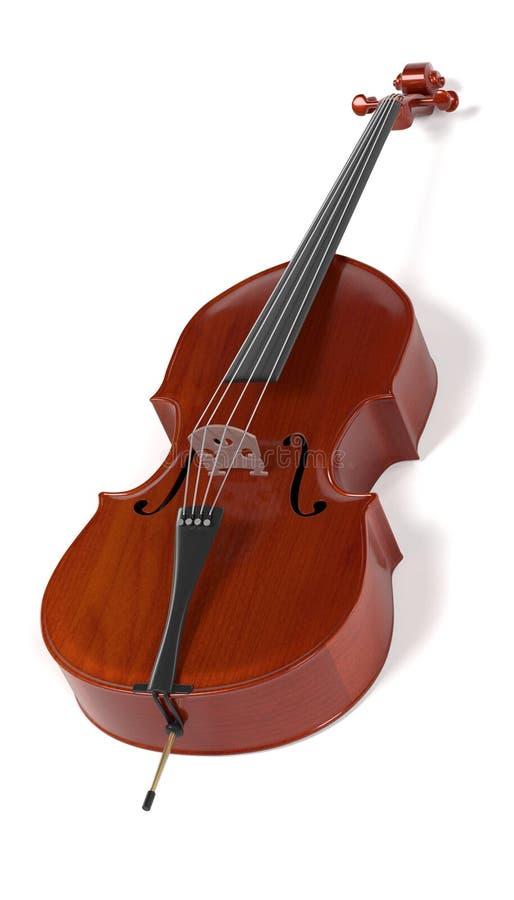 Baarzen - muzikaal instrument stock illustratie