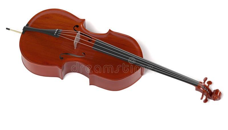 Baarzen - muzikaal instrument royalty-vrije illustratie