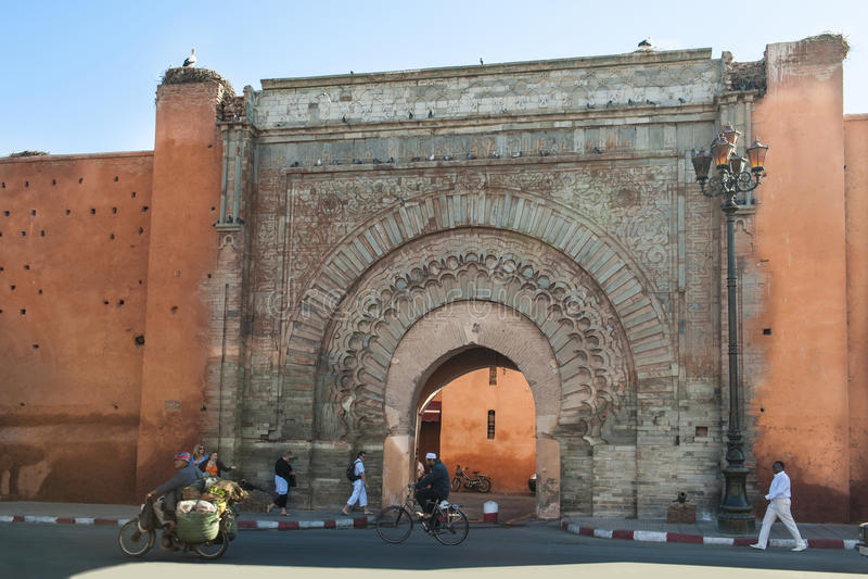 Bab Agnaou Marrakech fotografia stock libera da diritti