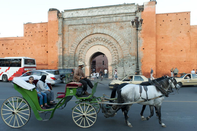 Bab Agnaou Marrakech royalty free stock photography