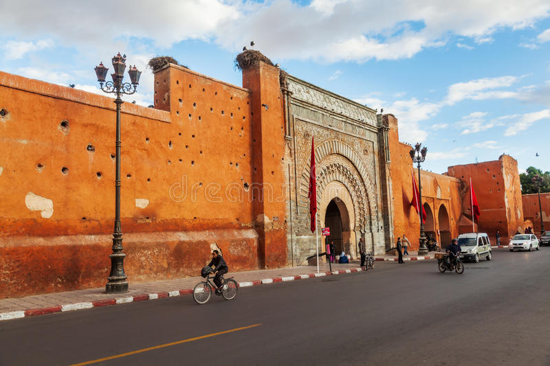Bab Agnaou Marrakesh stock photo