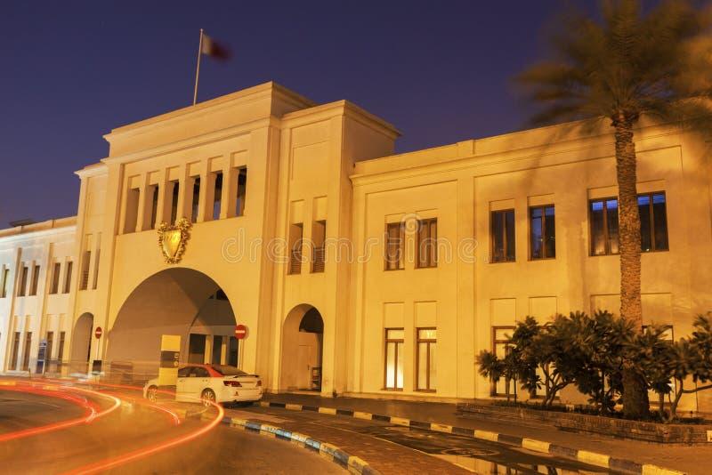 Bab Al Bahrain - portone del Bahrain fotografia stock libera da diritti