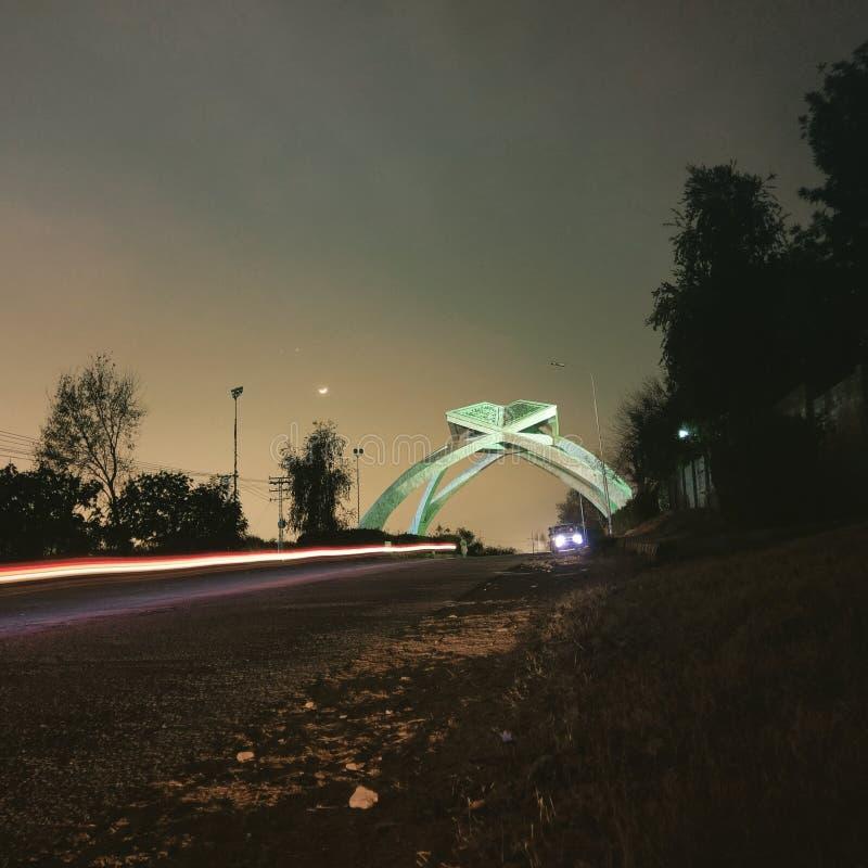 Bab-al-quaid, Qau, Islamabad imagen de archivo libre de regalías