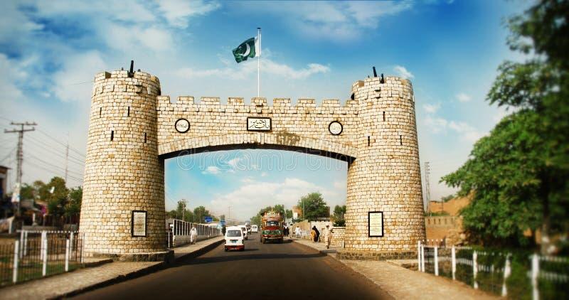 Bab-e-Khyber fotografia de stock