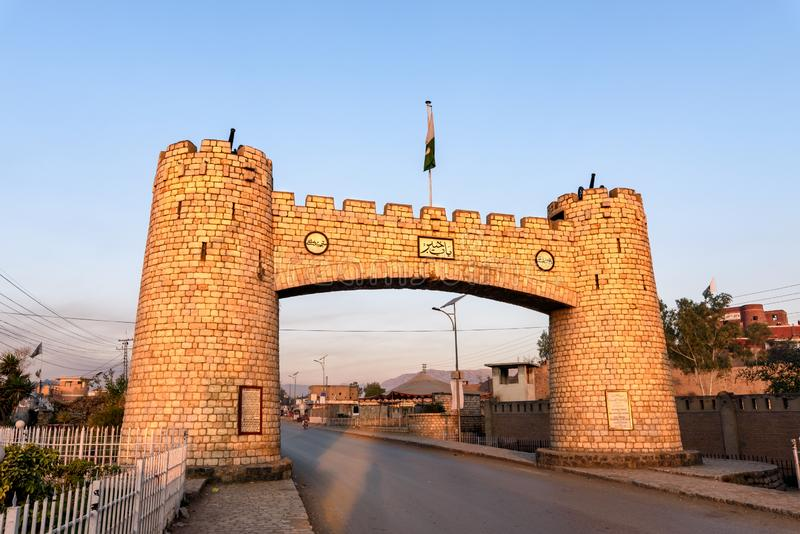 Bab-e-Khyber KPK Pakistan stock photo