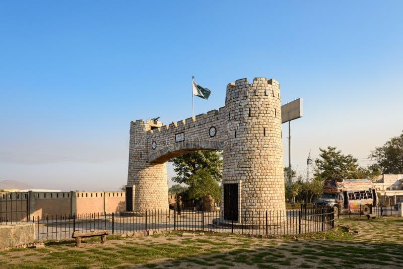 Bab e Khyber Pakistan immagini stock libere da diritti