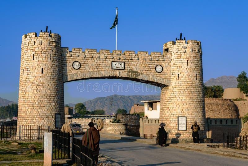 Bab e Khyber Pakistan fotografie stock libere da diritti