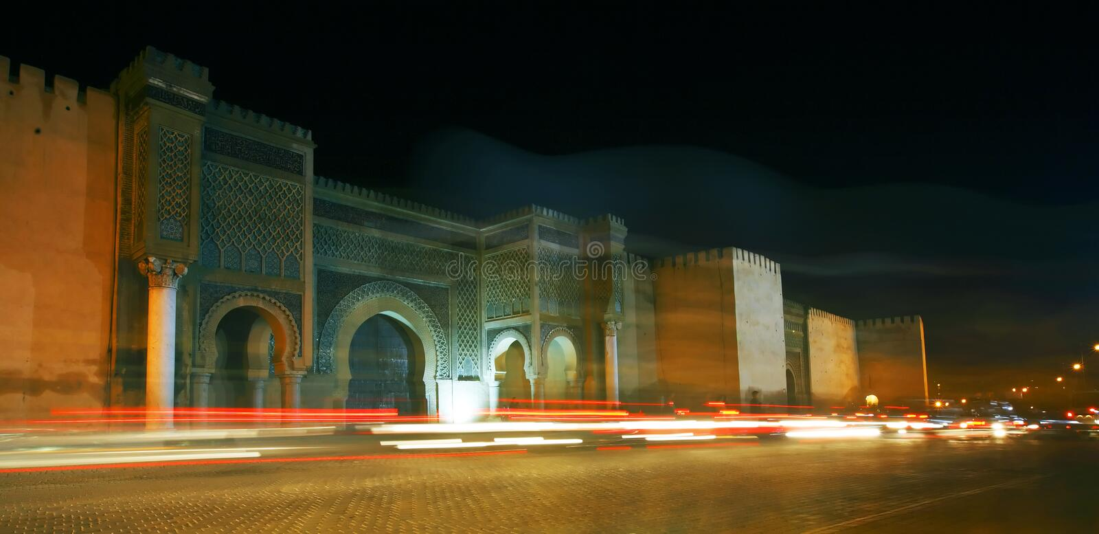 Download Bab El Mansour Royalty Free Stock Photo - Image: 9897845