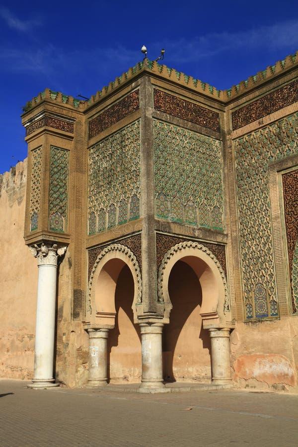 Bab Mansour image stock