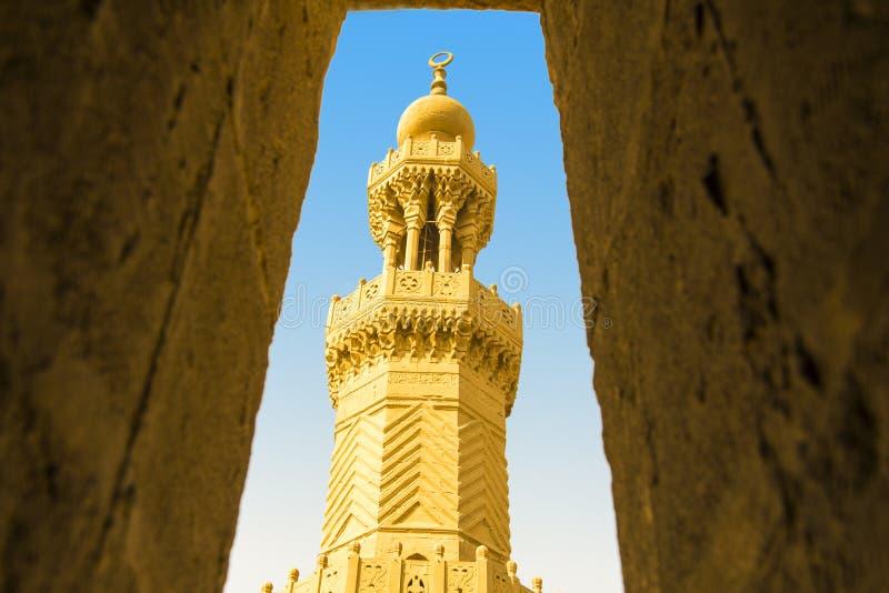 Bab Zuweila Minaret fotografia de stock royalty free