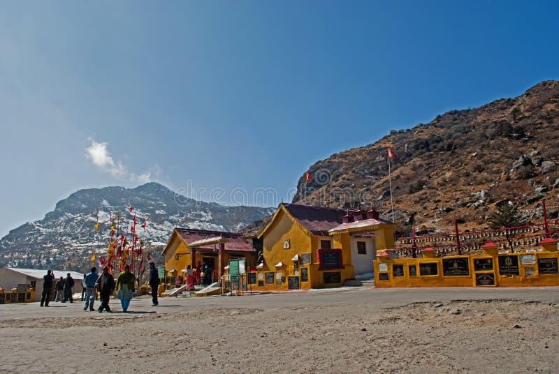 Baba Mandir: świątynia baba Harbhajan Singh zdjęcia stock