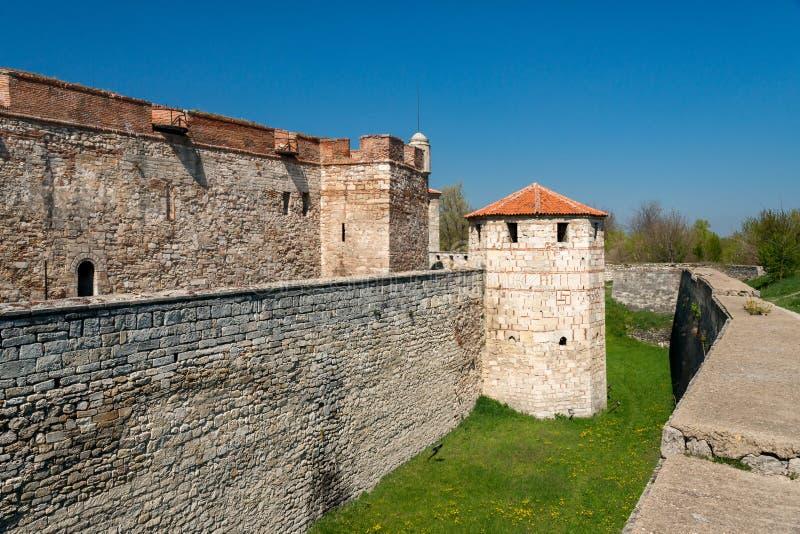 Baba Vida - alte mittelalterliche Festung in Vidin, in nordwestlichem Bulgarien Reise zu Bulgarien-Konzept lizenzfreies stockbild