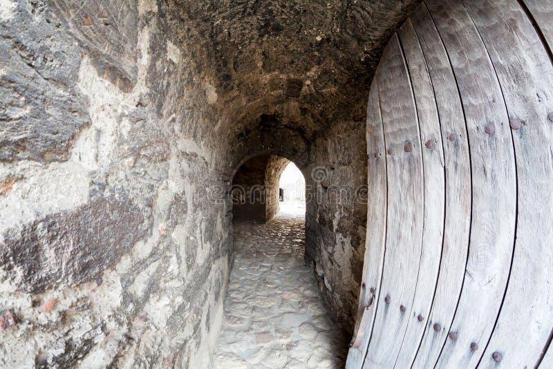 Baba Vida, eine mittelalterliche Festung in Vidin, in nordwestlichem Bulgarien lizenzfreie stockbilder
