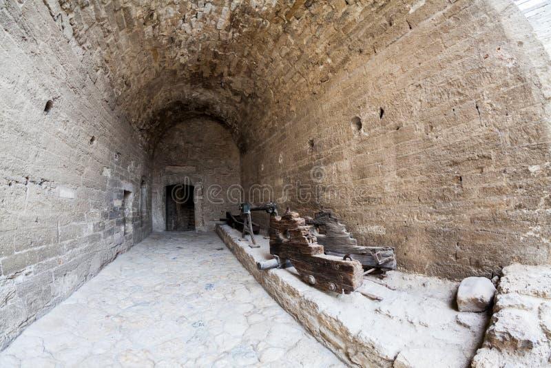 Baba Vida, eine mittelalterliche Festung in Vidin, in nordwestlichem Bulgarien lizenzfreie stockfotos