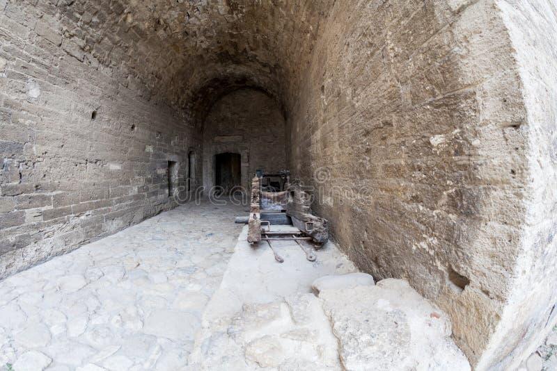 Baba Vida, eine mittelalterliche Festung in Vidin, in nordwestlichem Bulgarien stockbild