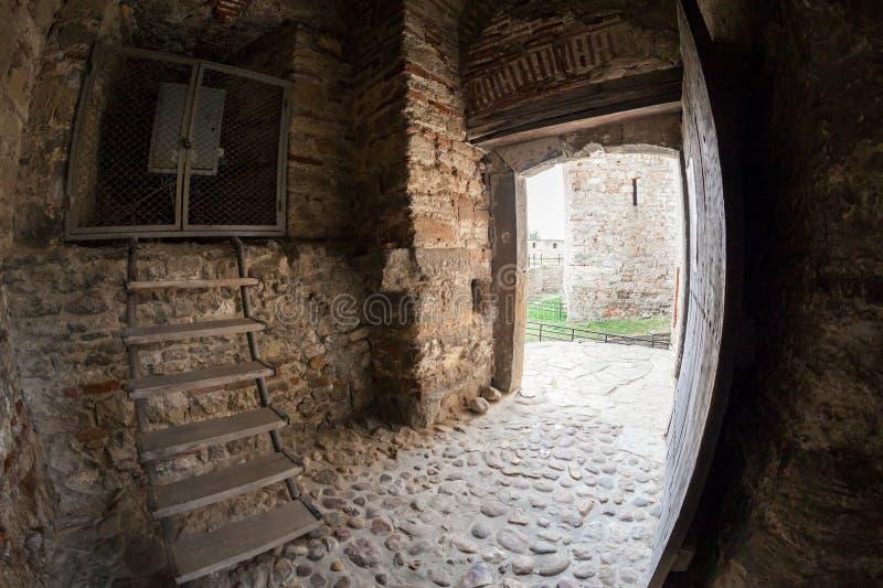 Baba Vida, eine mittelalterliche Festung in Vidin, in nordwestlichem Bulgarien lizenzfreies stockfoto