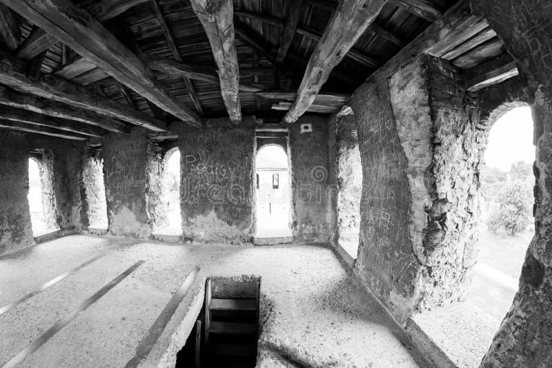 Baba Vida en medeltida fästning i Vidin, i nordvästlig Bulgarien arkivfoto