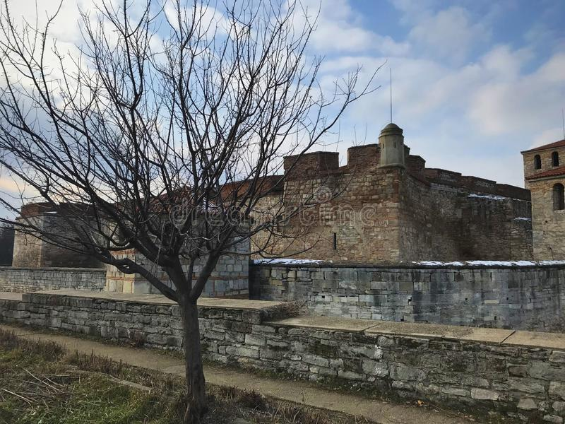 Baba Vida Fortress, Vidin, Bulgaria royalty free stock images