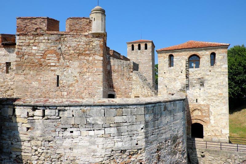 Baba Vida Fortress In Vidin, Bulgarije stock foto