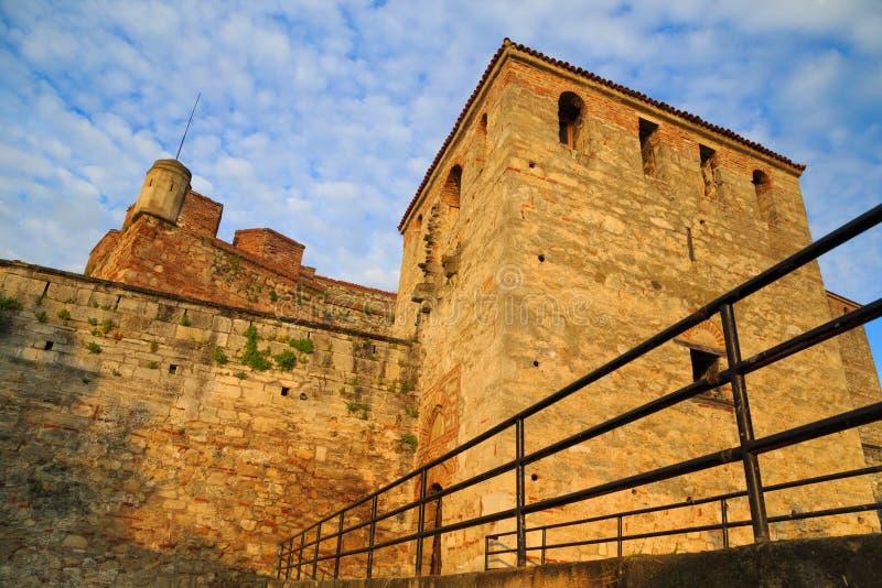 Baba Vida Fortress, Vidin, Bulgarije royalty-vrije stock afbeelding