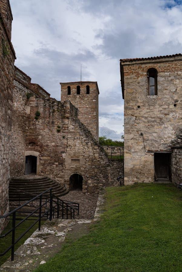 Baba Vida ist eine mittelalterliche Festung in Vidin in nordwestlichem Bulgarien und der Primärmarkstein der Stadt Baba Vida ist  lizenzfreie stockfotos