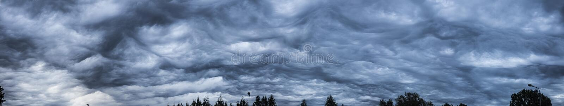 Babbling ουρανός στοκ φωτογραφία