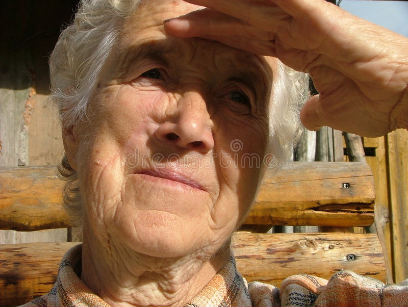 babcia zdjęcia stock