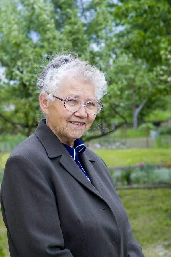 babcia fotografia stock